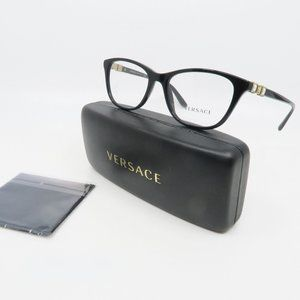 Versace Black Women's Glasses MOD 3213-B GB1 52mm